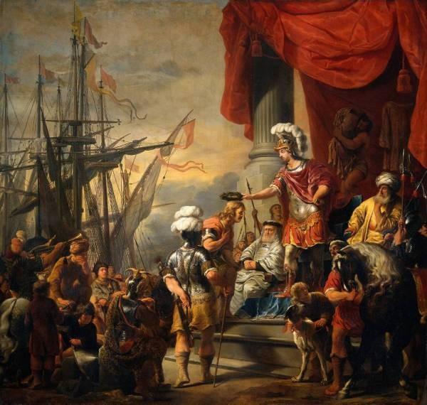 Aeneas at the Court of Latinus RJM